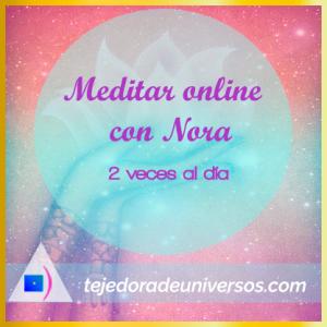 Meditar online todos los dias con Nora