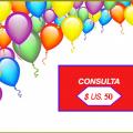 """Promoción del mes """"consulta online"""""""